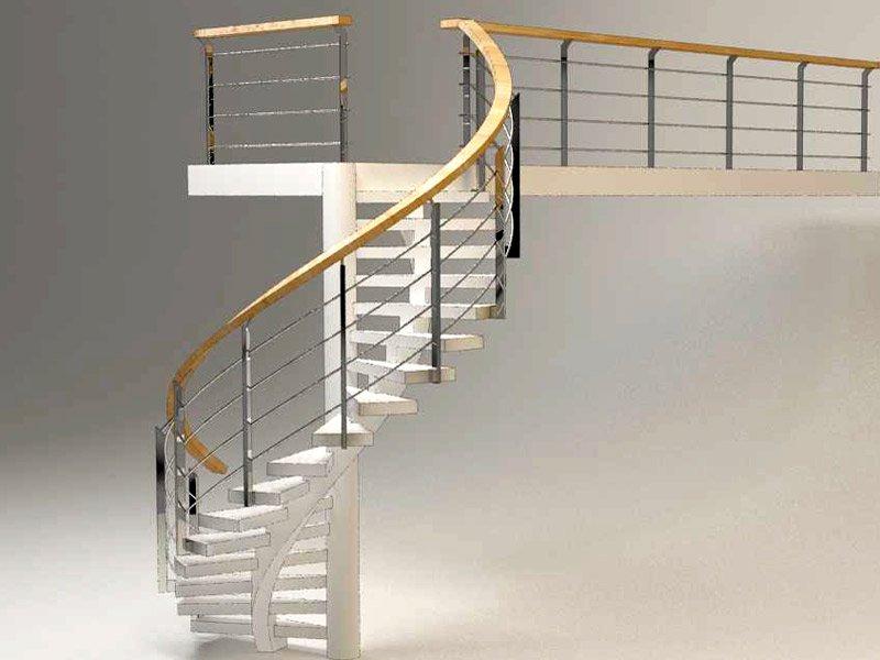 Винтовая лестница проект